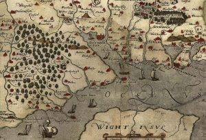 New Forest old map