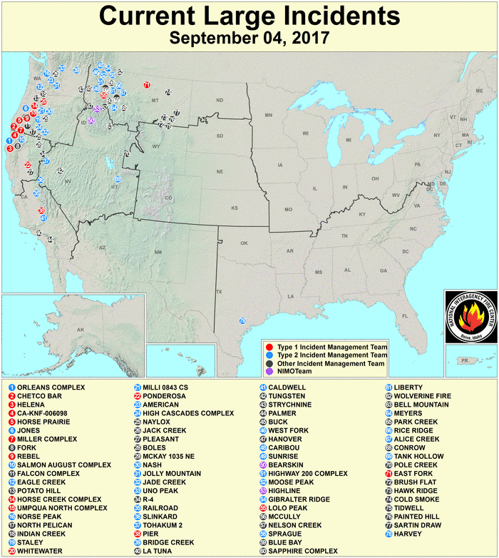 Fire Map Questions The Smokey Wire National Forest News And Views